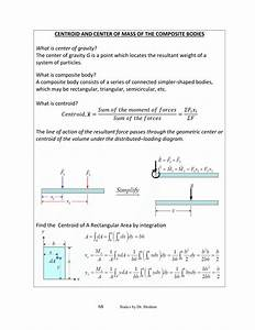 Draw The Free Body Diagram For The Rod G Is The Center Of