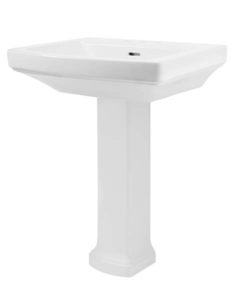 Gerber Logan Pedestal Sink by Hinsdale 4 Quot Centers Standard Bathroom Sink With Pedestal