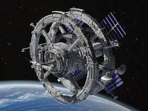 Sci-Fi Space Station 3d model - CGStudio