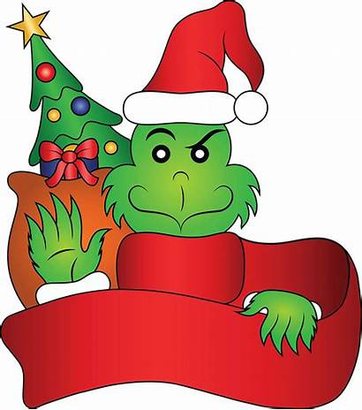 Grinch Hat Clipart Stole Christmas Transparent Franklin