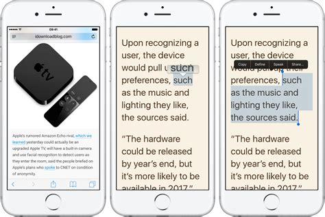 safari testo hai problemi a selezionare il testo con safari su iphone