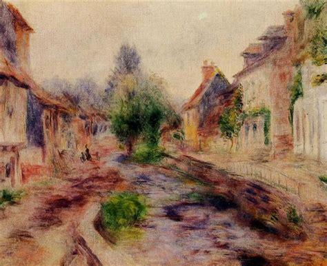 The Village Pierre Auguste Renoir