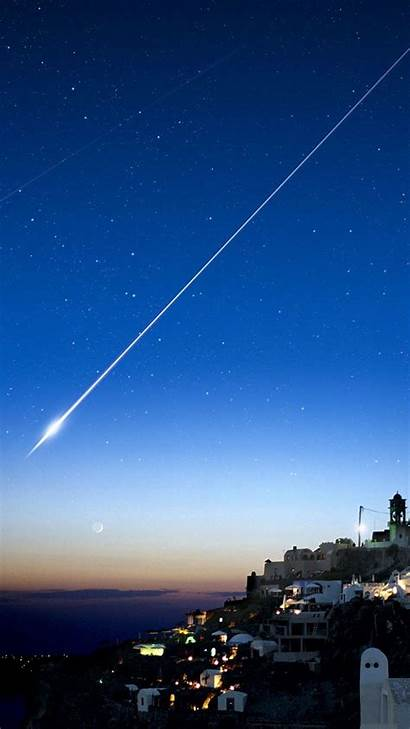Shooting Star Iphone Stars Cliff Backgrounds Plus
