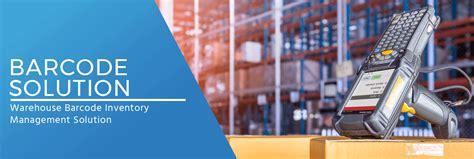 barcode solution inventory management system comprehensive