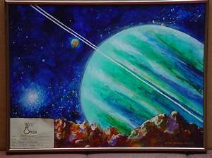 Purple and Blue Planets - Pics about space