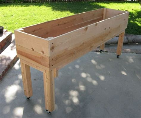 25 best ideas about garden planter boxes on