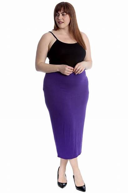 Skirts Pencil Office Stretch Ladies Bodycon Womens