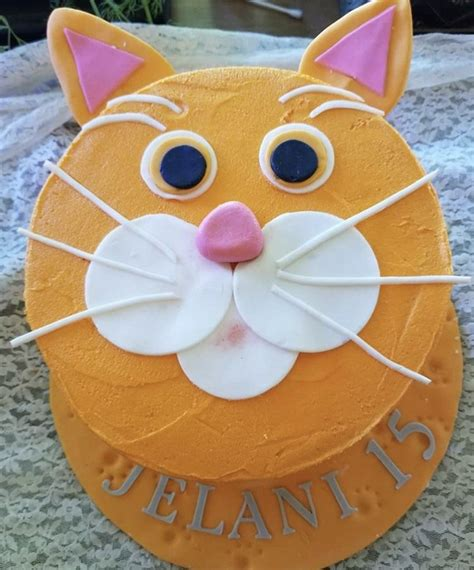 Designs 50 best cat birthday cakes ideas and designs | ibirthdaycake pin by cheryl johnson on decorated cakes/cupcakes/cookies. Orange Tabby Cat Bday cake made by Patsy's Sweet Shoppe in West Allis WI | Cake decorating party ...