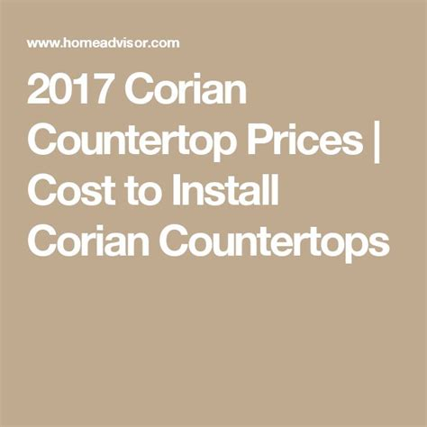 Cost Of Corian 17 Best Ideas About Corian Countertops On