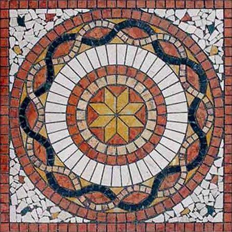 Fliesen Mosaik Berlin by Fliesen Naturstein Rosetten Rosonen Bodendekoration