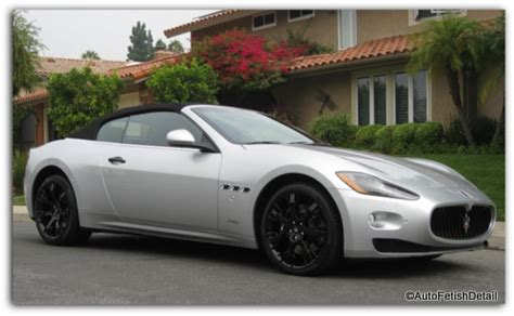 Gambar Mobil Maserati Granturismo by Auto Detailing Pictures Of Auto Detail