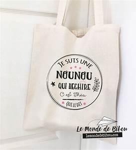 Idee Cadeau Pour Remercier Une Nounou : sac cadeau personnalis pour une nounou qui d chire ~ Dallasstarsshop.com Idées de Décoration