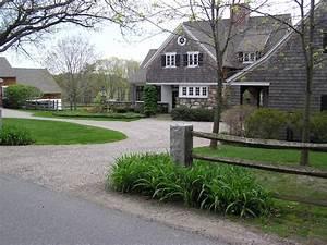 Semi Circle Driveway Exterior Farmhouse With Entrance