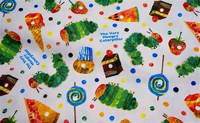 Hungry Caterpillar Very Fabric Beautifulwork Meter Half