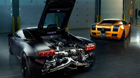 lamborghini gallardo turbo engine matte engines supercar supercars wallpaper 1920x1080 97665