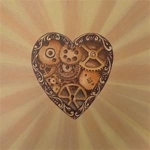 Steampunk Heart | Tattoos! | Pinterest
