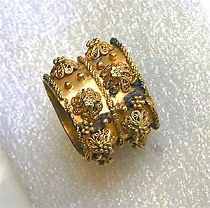 antique jewish wedding ring from italy 17th century With antique jewish wedding rings