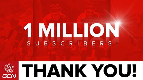 Million Subscribers Thank You Youtube