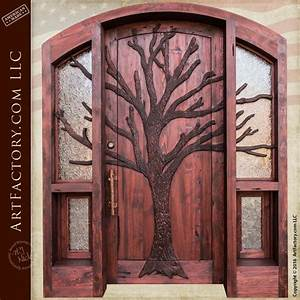 Viking, Inspired, Cathedral, Door, Built, In, Historically, Correct, Hand, And, Craft
