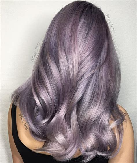Smoky Lilac Is The Glam Grunge Hair Color You Should Try