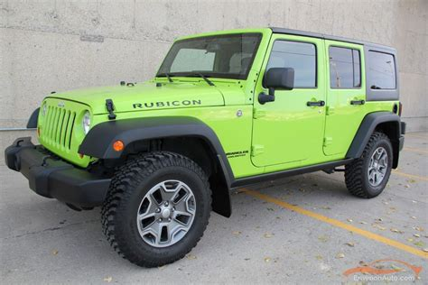 hyper green jeep jeep 2013 jeep wrangler unlimited rubicon