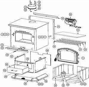 Us Stove Company 2500 Parts List And Diagram