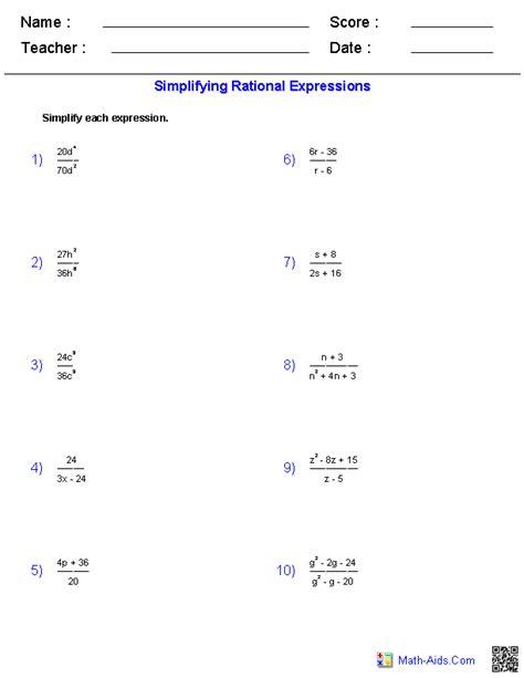 best of simplifying algebra worksheets simplifying radicals worksheet simplifying