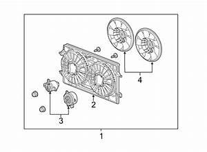 Saturn Aura Engine Cooling Fan Blade  Liter  Mailbu