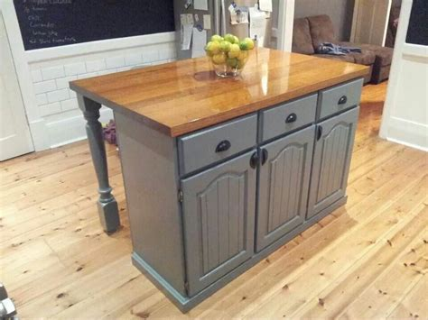 diy kitchen cabinets upcycled kitchen island home in 2018 3397
