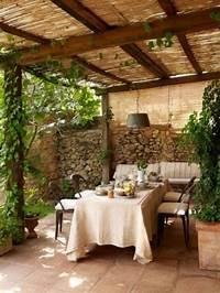 best rustic patio design ideas 57 Cozy Rustic Patio Designs - DigsDigs