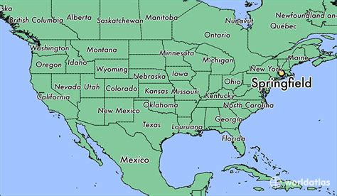 springfield ma springfield massachusetts map