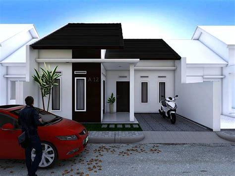 model rumah minimalis sederhana 1 lantai terbaru desain