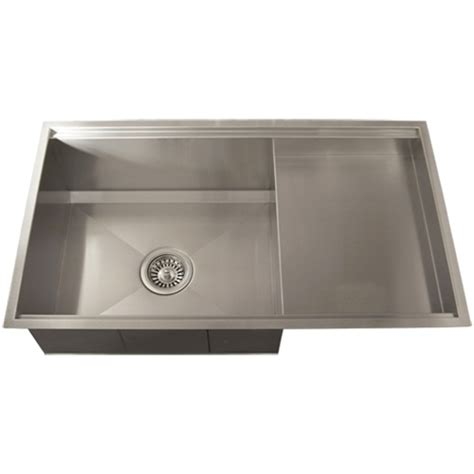 stainless steel square kitchen sinks ticor tr4100 undermount 16 stainless steel square 8296