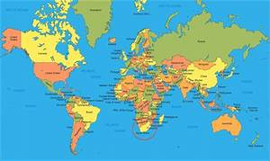 Printable World Map For Kids | CARISOPRODOLPHARM.COM