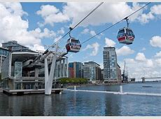 Emirates Air Line and Thames Clipper