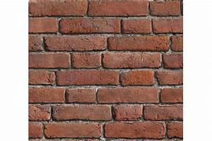Papier Peint Brique Relief : papier peint briques rouges orang es papier peints ~ Dailycaller-alerts.com Idées de Décoration
