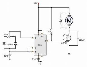 12v Dc Motor Speed Control Circuit Diagram