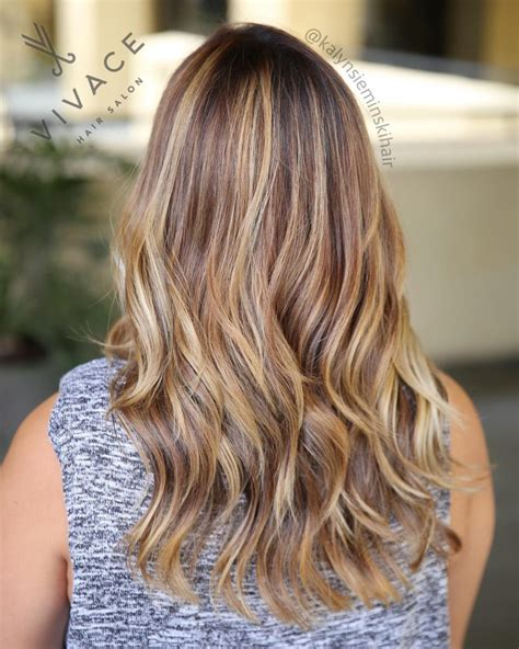 Sunkissed Balayage By Kalyn Sieminski At Vivace Salon In