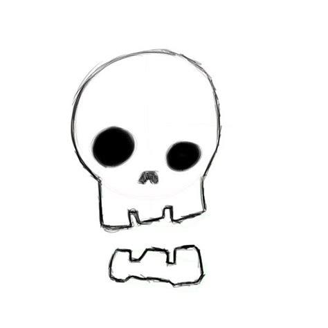 cartoon skull pictures clipartsco