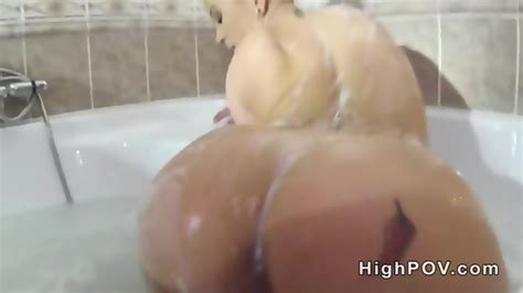 Busty Blonde Bathroom Pov Handjob Eporner