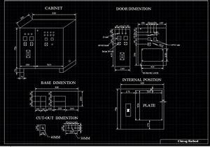 Fabrication Drawing Of Electrical Panel