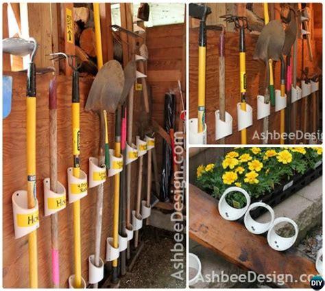Garage Storage Ideas Garden Tools by Garage Organization And Storage Diy Ideas Projects Shed