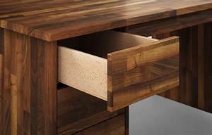 Schreibtisch Nach Maß : farato aus nussbaum schreibtisch nach ma ~ Frokenaadalensverden.com Haus und Dekorationen