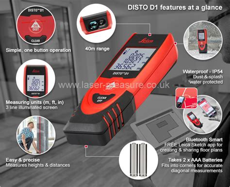 How To Measure Speed Of Light by Leica Disto D1 Laser Measure With Bluetooth Leica