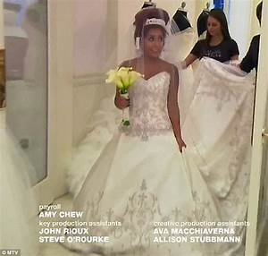 snooki finds her dream wedding dress a traditional ivory With snooki wedding dress