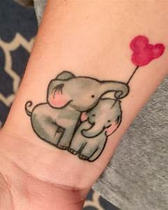 20+ Cute Baby Elephant Tattoos For Girls