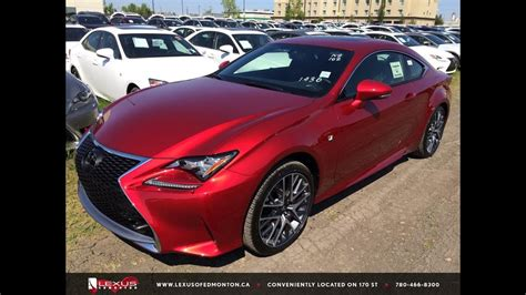 New Red 2015 Lexus Rc 350 Awd