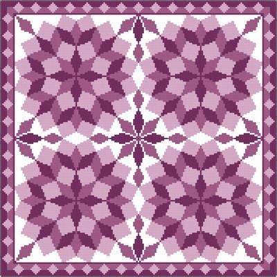 cross stitch quilt blocks jumbled tumbling blocks cross stitch pattern quilts