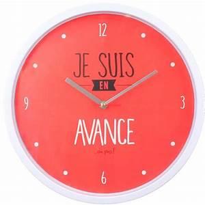 Horloge Murale Rouge : les 25 meilleures id es de la cat gorie horloge murale originale sur pinterest horloge ~ Teatrodelosmanantiales.com Idées de Décoration
