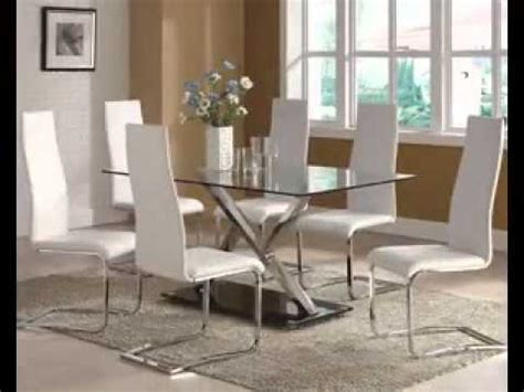 Decorating Ideas For Glass Kitchen Table by Modern Glass Dining Table Decor Ideas